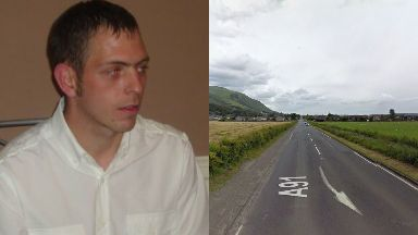 Incident: Graham Kerr, 33, was pronounced dead at the scene.