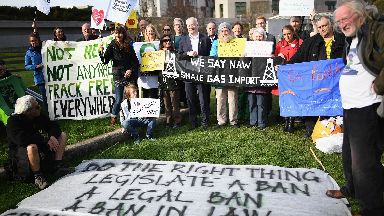 Fracking: 60,000 people contributed to consultation.