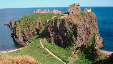 Dunnottar Castle: The fortress has appeared in movies.