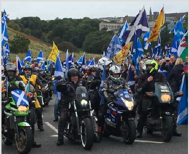 March: Organisers says 100,000 took part.