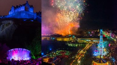 Fireworks: Tens of thousands are expected to travel to Edinburgh.