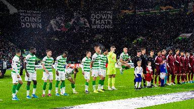 UEFA have taken action after flares were lit.