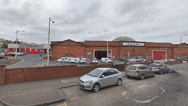 Edinburgh: Ronnie McGhie was working within Lothian Buses' Annandale Street yard.