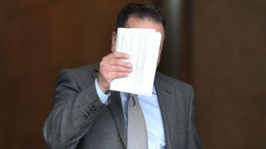 Guilty: Khalid Farjani at Glasgow Sheriff Court.