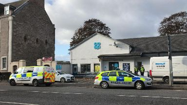 Perth: Emergency services were called to the Co-op on Main Street.