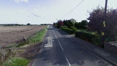 Incident: Two vehicles collided on Meigle Road in Alyth.
