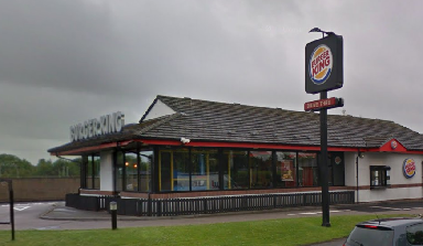 Burger King: Robbed by two men.