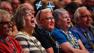 SNP activists would have been buoyed by their leader's speech.
