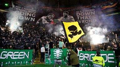 Celtic have been fined by UEFA again.