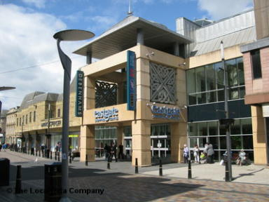 Scene: Police were called to investigate an alleged incident at Eastgate Centre.