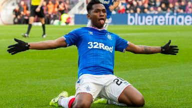 Abuse: Claims Morelos was racially abused by Hearts fans.