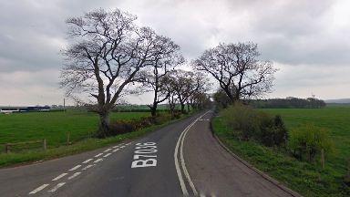 Crash: B7036 Barony Road.