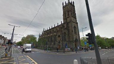Edinburgh: The man was struck on Princes Street.
