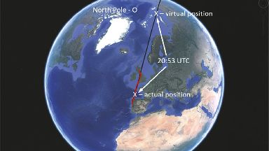 Fault: The plane left its planned cruise altitude.