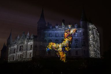 Mayerling: Projected onto Dunrobin Castle.