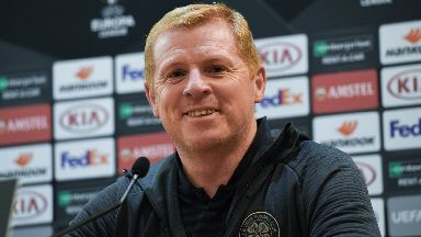 Boss: Neil Lennon wants Celtic to end an unwanted record.