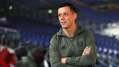 Champ: Celtic's Callum McGregor.