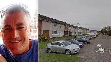 Investigation: Graeme Hughes was found dead on Monday.