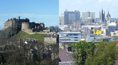 Cities: Edinburgh and Aberdeen in top ten cities to live and work.