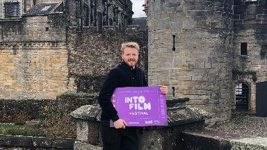 Jack Lowden at Stirling Castle
