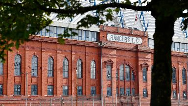 Ibrox: Up to £50m could now be wiped off the tax bill owed by the club's old operating company.