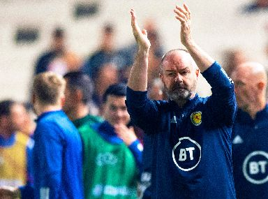 Steve Clarke: Pleased to see momentum building.