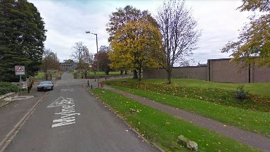 Clackmannanshire: A driver fled the scene of the crash.