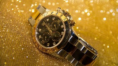 Rolex: The luxury watches are worth a lot of money.