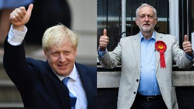 Debate: Boris Johnson and Jeremy Corbyn will go head-to-head.