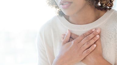 Breathless: COPD can prove fatal.