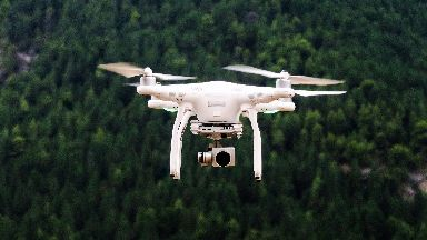 Scotland: A pilot reported seeing a drone 7000ft in the air.