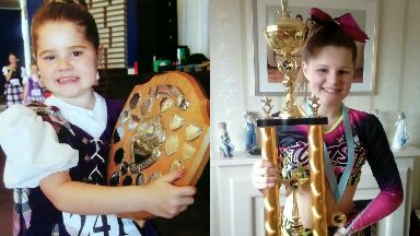 Champ: Isla has been dancing since she was six.
