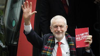 Jeremy Corbyn: Launching Labour election manifesto in Birmingham.