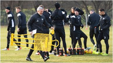 Catch-up: Jim Goodwin's Saints are at the foot of the Premiership table.