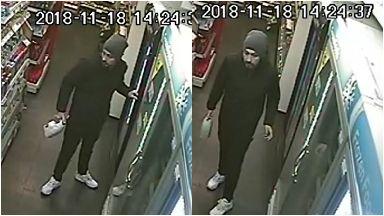 CCTV: Man in Londis Store.
