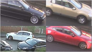 Car appeal: Four vehicles spotted in the area.