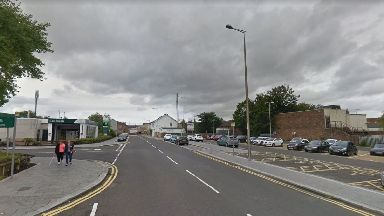 Attack: The man was stabbed on Friday night.