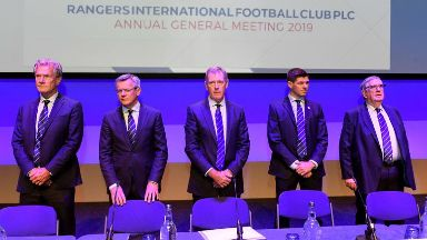 AGM: King is stepping down from role.