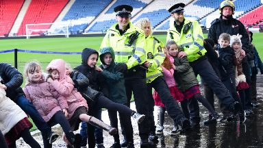 Glasgow: A conga will take place at Hampden Park.