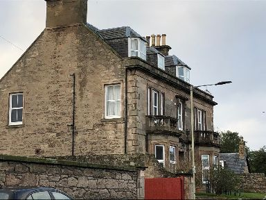 Nairn: The house where his family live