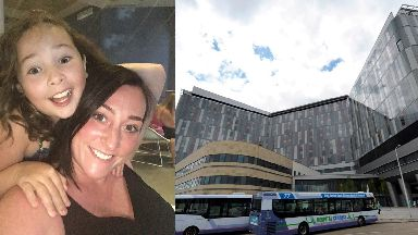 Glasgow: Milly Main died at the Queen Elizabeth University Hospital.