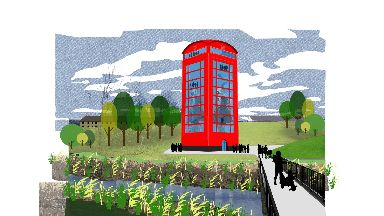 Winner: The visitor centre design.