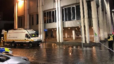 Aberdeen: The council building was evacuated.