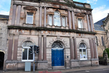 Forres Town Hall will be run by the community