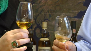 Sláinte!: Whisky lovers will sample up to 40 malts.