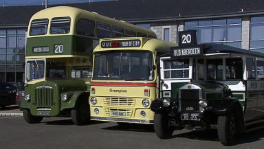 Historic Buses: New trust will preserve old vehicles.