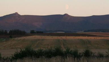 Bennachie: A view of the north-east landmark.