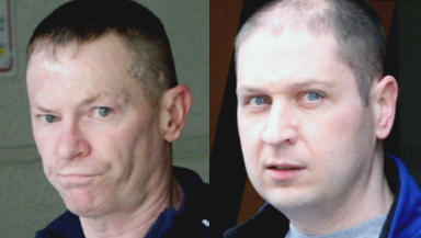 Appeal: O'Neill (left) and Lauchlan were found guilty of murdering Allison McGarrigle.