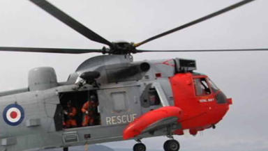 Life Savers: Crews at HMS Gannet are on constant standby.