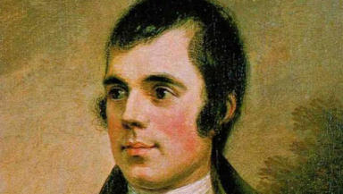 Robert Burns: celebrated across Scotland